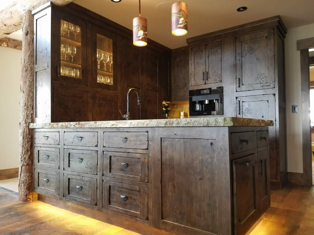 Western Custom Classic Kitchen Interior Visions Crested Butte