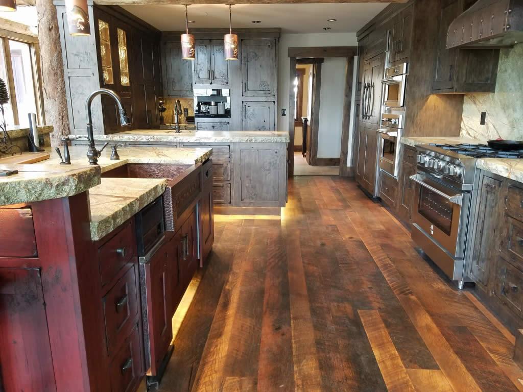 Western Classic Custom Kitchen Interior Visions